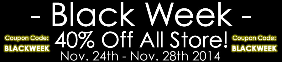 Black Week on Ernesto Cortazar Online Store - 50% Discount All Store!