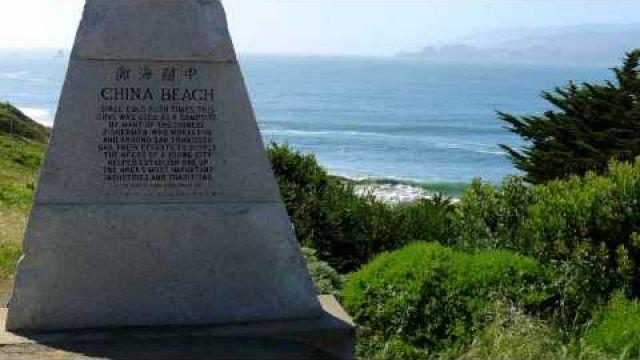 ERNESTO CORTAZAR - LET'S TAKE A WALK - SAN FRANCISCO - SCENIC DRIVE - CHINA BEACH
